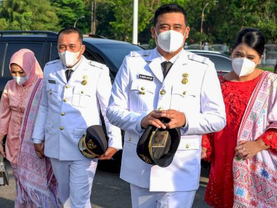 Sudah Dilantik, Bobby Nasution Diminta Percepat Pembangunan di Medan Utara