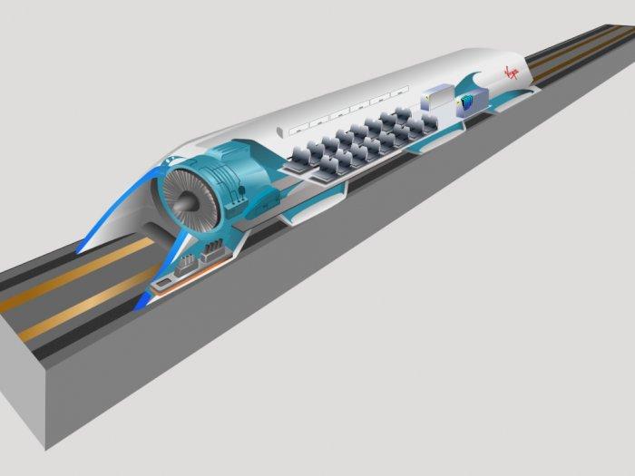 Inilah Hyperloop, Kereta Masa Depan Yang Lebih Cepat Dari Pesawat