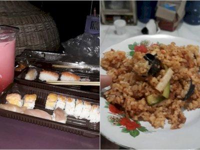 Gak Doyan Sushi, Netizen Ini Ubah Jadi Nasi Goreng, Ada Sentuhan Kearifan Lokal