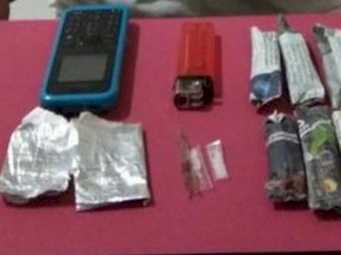 Temannya Menitipkan bungkusan Plastik, Ternyata Isinya Narkoba, Pemuda Ini Ditangkap