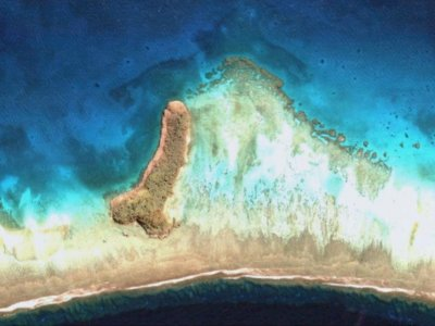 Jalan-Jalan Virtual di Google Earth, Wanita Ini Malah Temukan Pulau Penis
