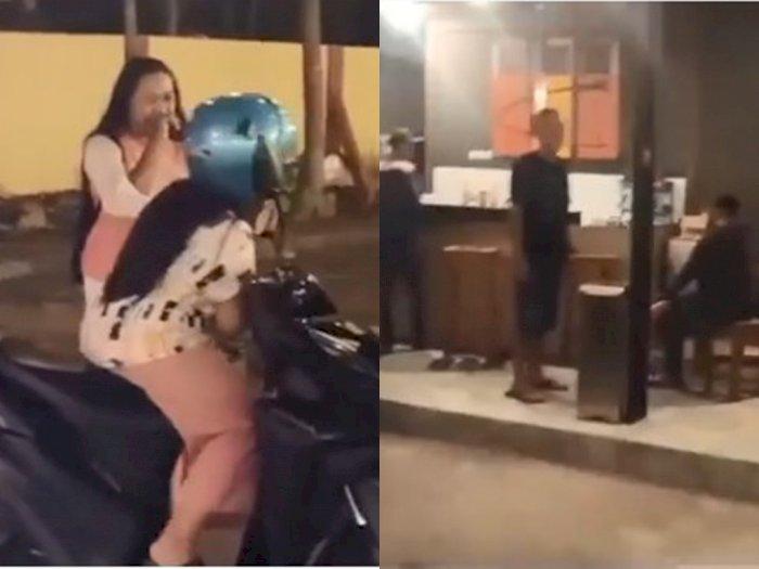 Kocak, Dua Wanita Ini Kecele Hendak ke Kafe, Malah Masuk ke Kantor Polsek Pekalongan