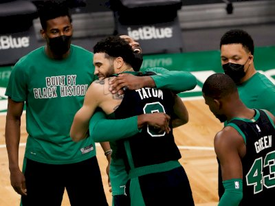 FOTO: Boston Celtics Menang Tipis 111-110 Atas Washington Wizards