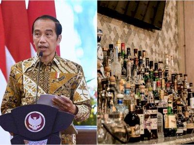 Baru Sebulan Berlaku, Presiden Jokowi Cabut Perpres Investasi Miras usai Banjir Kritikan