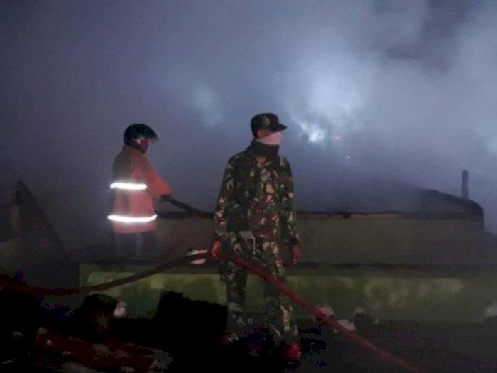 28 Warga Silih Nara Aceh Tengah Ngungsi ke Rumah Kerabat akibat Api Lahap Sembilan Rumah