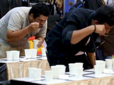 FOTO: Lomba Cupping Kopi di Banda Aceh
