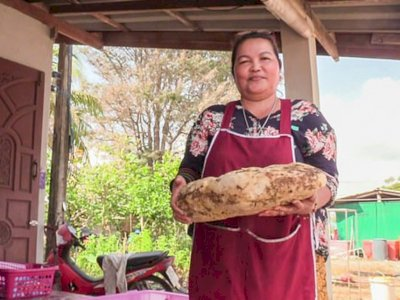 Wanita di Thailand Ini Tak Percaya Telah Menemukan Muntahan Paus Senilai Rp 3 Milyar