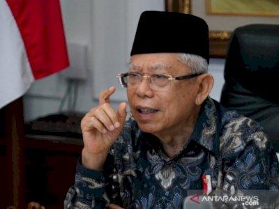 Sebelum Aturan Investasi Miras Dicabut, Ma'ruf Amin Bicara 4 Mata dengan Jokowi