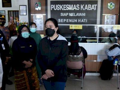 Setahun Pandemi, Puan Maharani Sebut Puskesmas Jadi Ujung Tombak Vaksinasi Covid-19