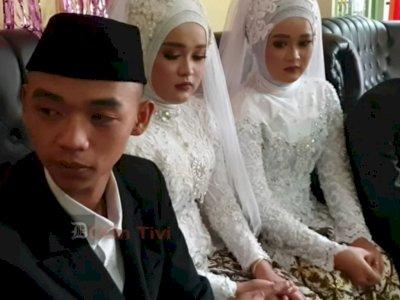 Usai Menikah Bareng, Pasangan Kembar di Sumedang Akan Tinggal Satu Rumah, Waduh