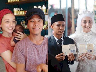 Nikahi Bule Prancis, Pria Lombok Ini Beri Mas Kawin Cerek dan Cobek Batu