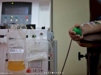 AS Hentikan Uji Coba Plasma Darah Pasien Sembuh Covid-19, Ini Alasannya
