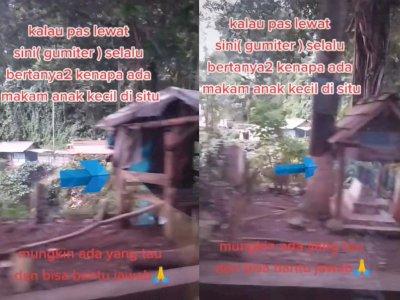 Misteri Makam Kecil di Pinggir Jalan Gumitir, Jawa Timur Diungkap Netizen