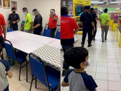 Pria Ini Ditangkap Setelah Merekam Video Bokong Wanita di Supermarket Memakai Ponsel