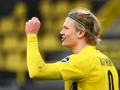 Maaf Nih, Dortmund Tak Akan Jual Haaland ke Klub Lain