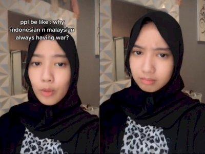 Alasan Kenapa Indonesia-Malaysia Selalu Bertengkar, Netizen Soroti Jawaban Gadis Ini