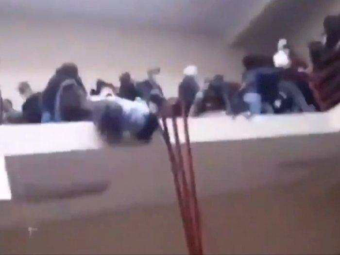 Detik-detik Dramatis 7 Mahasiswa Tewas Setelah Jatuh dari Lantai 4 Gedung Universitas