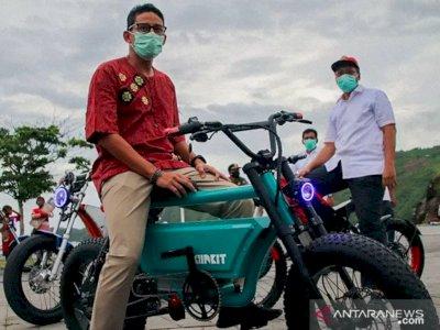 Menparekraf Sandiaga Uno Kagumi Lombok: Destinasinya Eksotis, Maju Terus NTB!