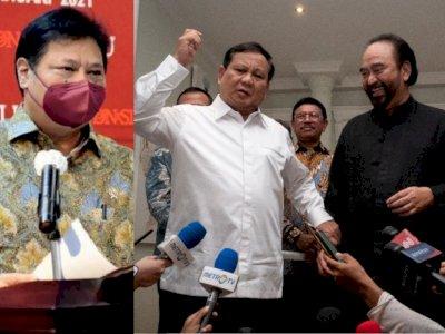 Soal Pertemuan Airlangga dengan Surya Paloh hingga Prabowo, Golkar Berikan Bocoran