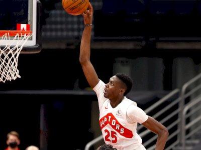 FOTO: Detroit Pistons Hancurkan Toronto Raptors 129-105