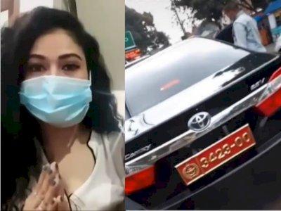 Wanita yang Viral Pakai Pelat Kopassus Bodong Buka Suara dan Minta Maaf