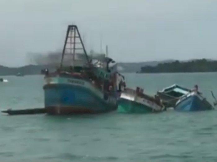 Putusan Inkrah,  10 Kapal Pencuri Ikan Ditenggelamkan, 21 Lainnya Menyusul