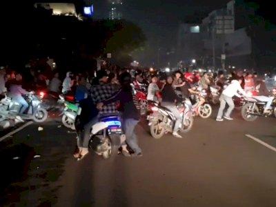 Geng Motor yang Bacok Polisi di Jakpus Disebut Tukang Mabuk, Suka Rusuh dan Tawuran