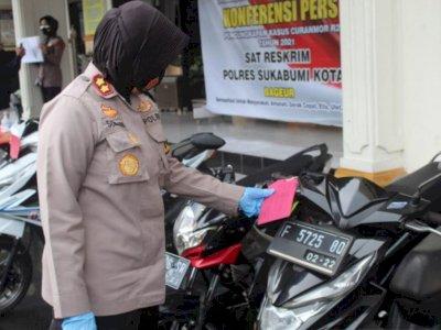 Polres Sukabumi Kota Berhasil Tangkap Pelaku Curanmor Paling Dicari