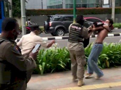 Viral Video Satpol PP  Tindak Skateboarders di Thamrin dengan Cara Maksa