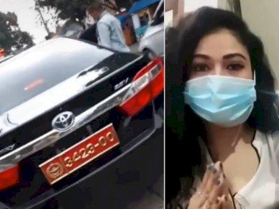 Wanita Sombong Pakai Pelat Kopassus Bodong Akhirnya Minta Maaf, Netizen: Biasalah!