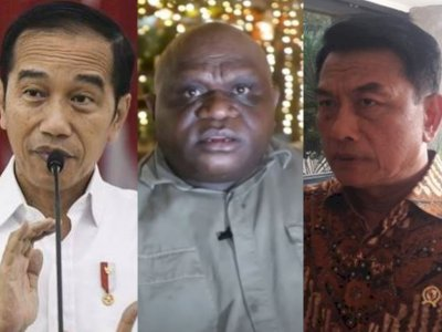 Sentil KLB Demokrat, Natalius Pigai Ingatkan Jokowi Waspadai Anak Buah: Rakyat Akan Lawan