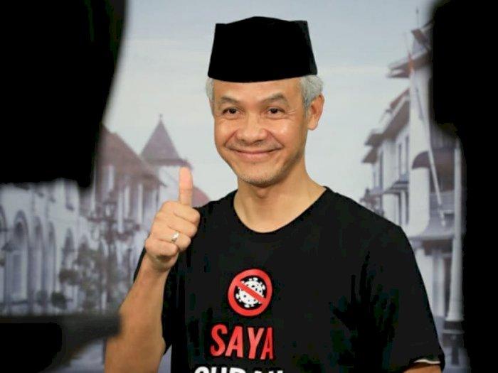 Kata Ganjar Pranowo Soal Ajakan Jokowi Benci Produk Luar Negeri