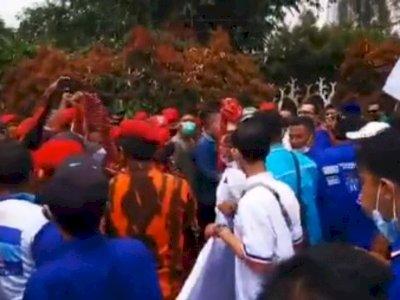 Mencekam! Detik-detik Kader Demokrat dan Anggota PP Nyaris Bentrok Akibat KLB Sibolangit