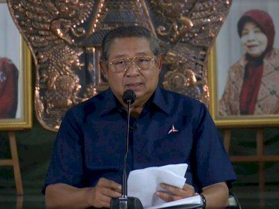 SBY Sebut KSP Moeldoko Bersekongkol dengan Orang Dalam Tega Mengkudeta