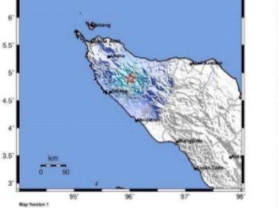 Gempa M 4,9 Guncang Aceh, BMKG: Tidak Berpotensi Tsunami