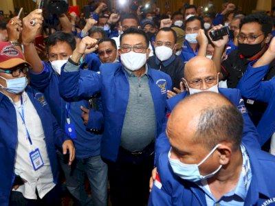 Ada Teriakan Moeldoko Presiden 2024 di KLB Sumut, PD: Mereka Bukan Pemilik Suara Sah