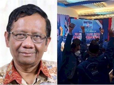 Ogah Campuri Kisruh Demokrat, Sikap Mahfud MD Mengejutkan: Jadi Pengadilanlah Pemutusnya