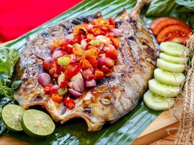 Masak Ikan Bakar Sambal Dabu-dabu Yuk Guys!