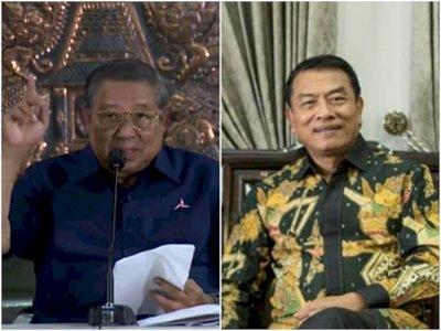 SBY: Sebulan Lalu Bilang Hanya Ngopi-Ngopi, Kini KSP Moeldoko Kudeta dengan Darah Dingin!