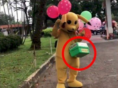 Viral Cewek Beli Balon ke Badut'Pikachu', Netizen Nangis Pas Lihat Harganya