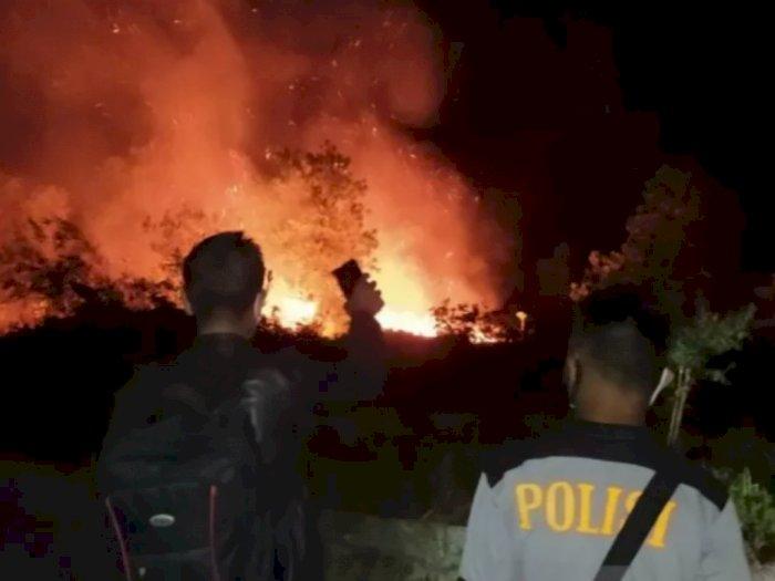 Warga Sering Buka Lahan Dengan Membakar Hutan, Polisi Minta Warga Tak Melakukannya Lagi