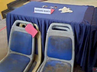 Tersangka Pencuri kursi TransJakarta Lakukan Aksi dengan Manfaatkan Longgarnya Pengamanan