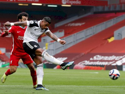 Liverpool VS Fulham: The Reds Tertinggal 0-1 di Babak I