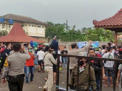 Undang Kerumunan, Polisi Bubarkan Lomba Burung Berkicau, Peserta Banyak dari Luar Kota