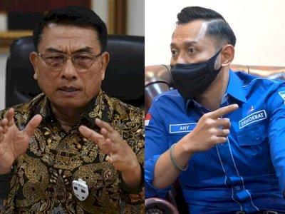 Menolak Dendam, AHY Mengaku Tetap Hormati Moeldoko, 'Once a Soldier, Always a Soldier'