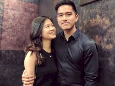 Intip Kemesraan Kaesang dan Felicia Tissue, Dekat sejak Kuliah di Singapura