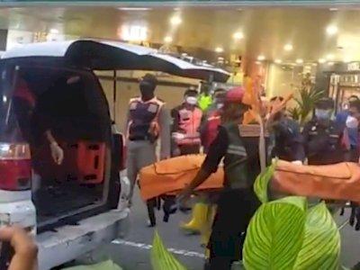 Pria Tewas Terjatuh dari Lantai 2 Sebuah Mal di Surabaya, Sempat Menimpa Pengunjung Lain