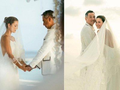 Selamat! Julie Estelle Resmi Dinikahi David Tjiptobiantoro di Maldives