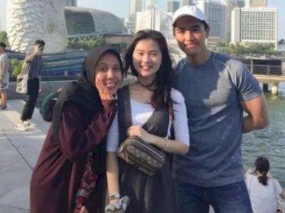 Momen Kaesang Bareng Felicia dan Nadia, Netizen: Baru Kali Ini Anak Presiden Kena Gibah