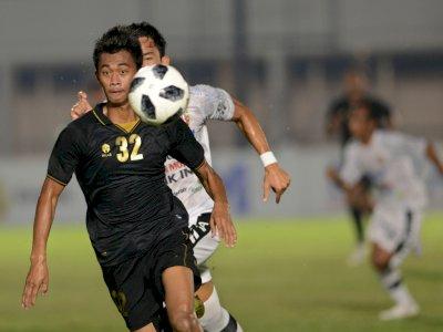 FOTO: Timnas U-23 Kalahkan Bali United 3-1